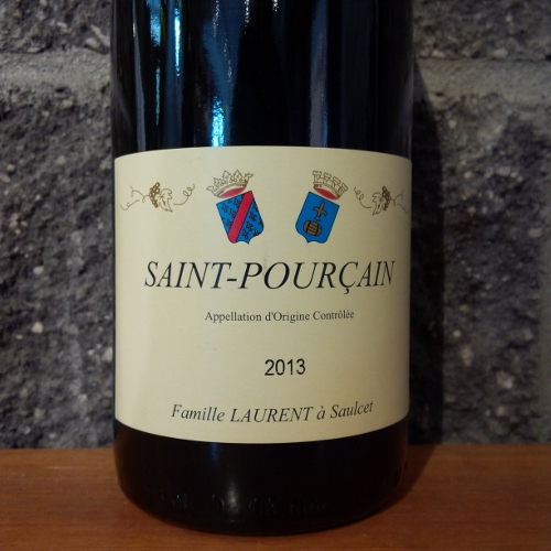 Famille Laurent Saint-Pourcain Rouge 2013